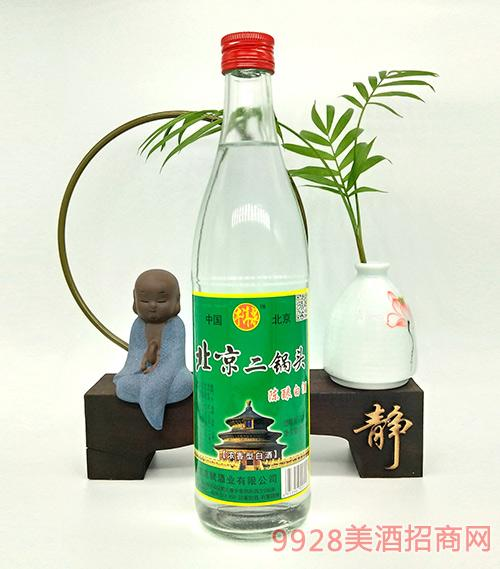 牛洱泉北京二锅头陈酿白酒52度500ml