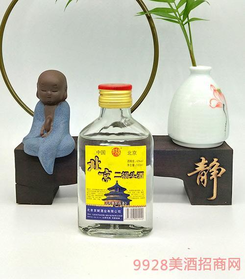 牛洱泉北京二锅头酒42度100ml