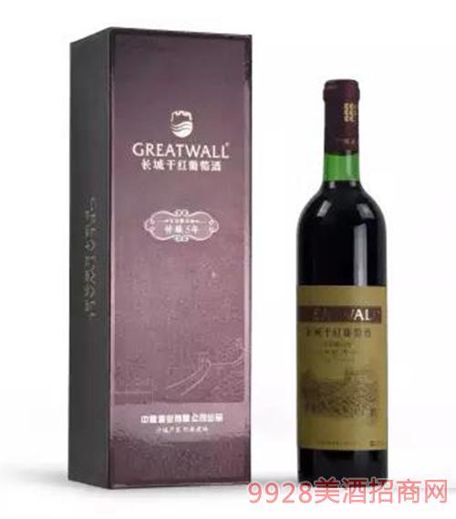 長城特釀五年寶石解百納干紅葡萄酒