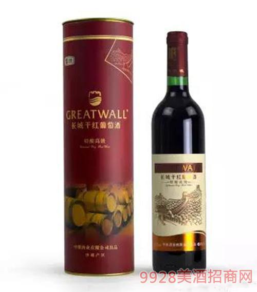 長城特釀高級干紅葡萄酒