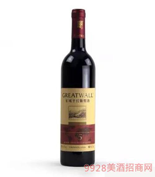 长城北纬40度V5解百纳干红葡萄酒