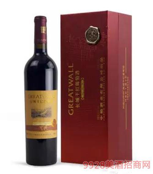 长城北纬典藏蛇龙珠干红葡萄酒