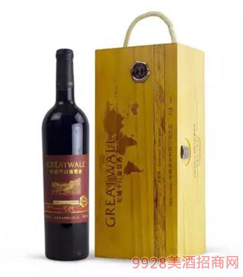 长城北纬典藏赤霞珠干红葡萄酒
