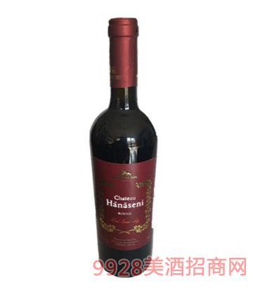 海纳瑟尼半干红葡萄酒750ml