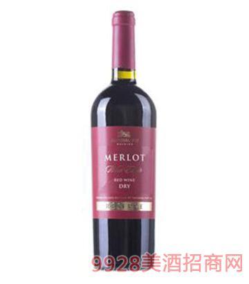珍藏梅洛干红葡萄酒750ml
