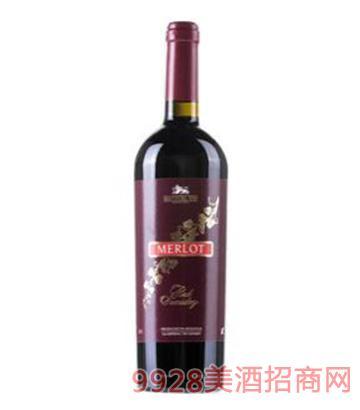 金葡萄-黑比诺半干红葡萄酒750ml