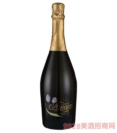 西班·花季甜白气泡酒 意大利原瓶进口葡萄酒 750ml