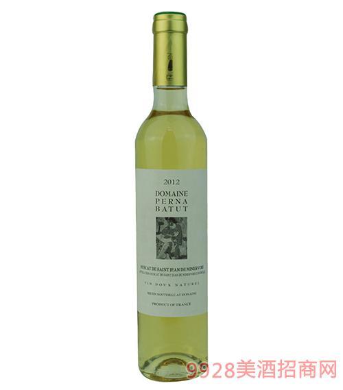 西班 · 多米娜·裴娜·巴图白葡萄酒 法国原瓶进口葡萄酒500ml