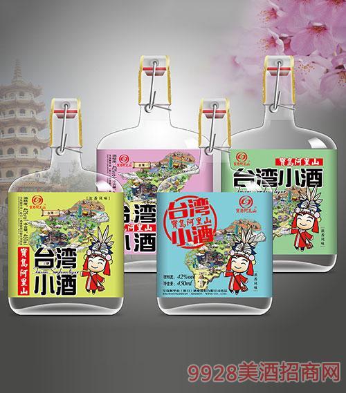 宝岛阿里山台湾小酒42度450ml