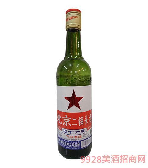 京华门北京二锅头(绿瓶)56度500ml