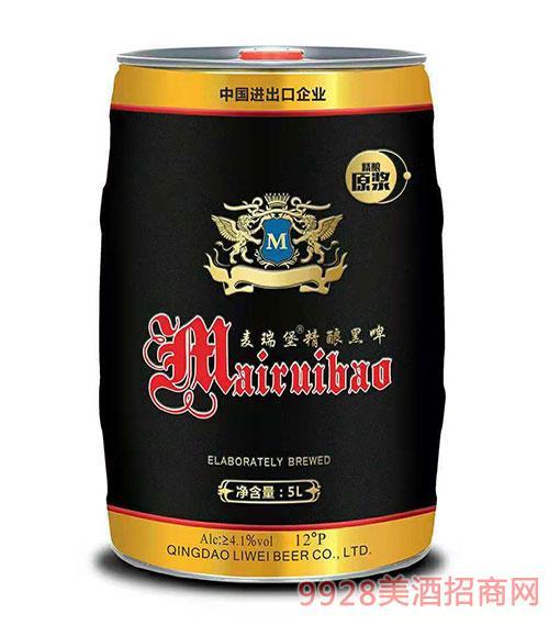 麦瑞堡精酿黑啤5L