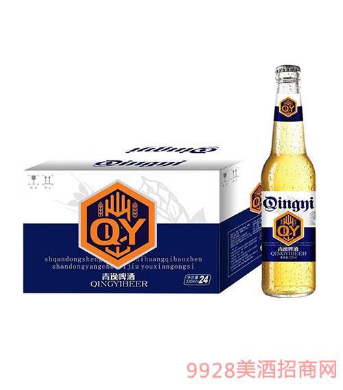 青逸啤酒330mlX24�{��