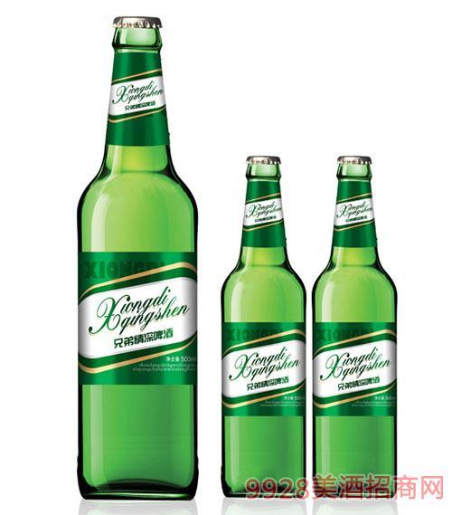 兄弟情深啤酒・500ml�G瓶