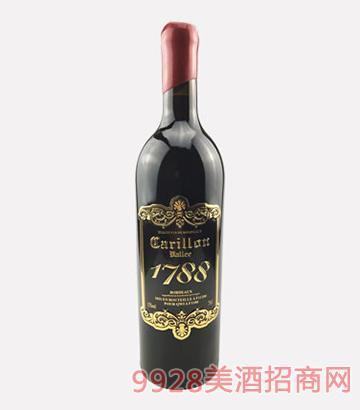 法���L�谷酒�f百年老藤干�t葡萄酒1999