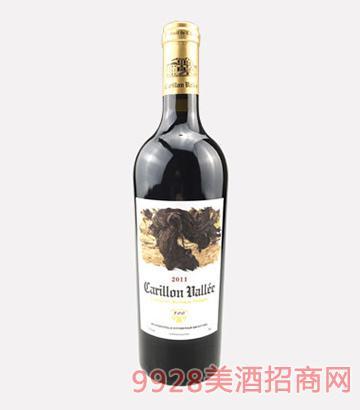 法国风铃谷酒庄百年老藤干红葡萄酒2011