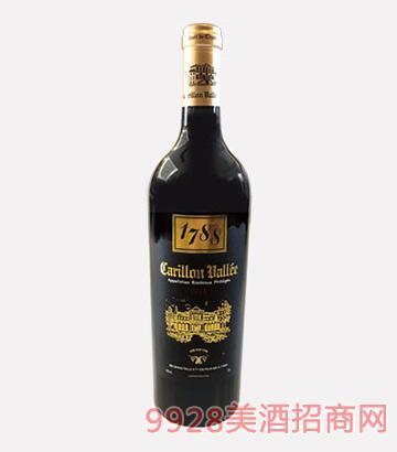 法国风铃谷酒庄百年老藤干红葡萄酒2010