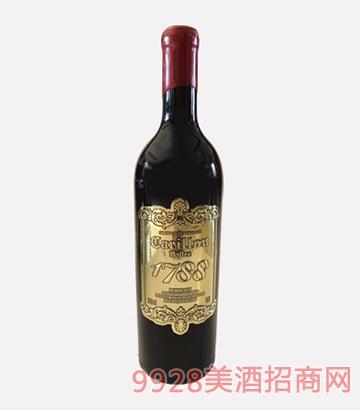 法国风铃谷酒庄百年老藤干红葡萄酒2009