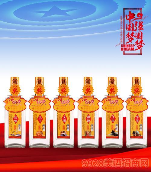 三发中国梦酒42度450ml