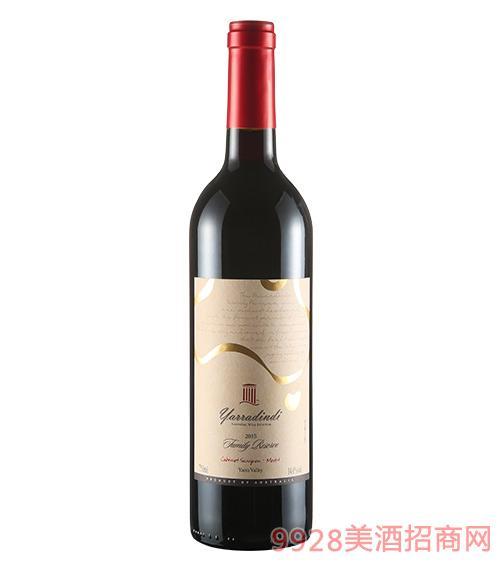 家族·赤霞珠、美乐-(亚拉谷)葡萄酒14度