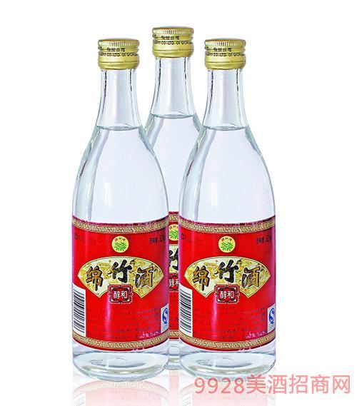 醇和绵竹酒52度450ml