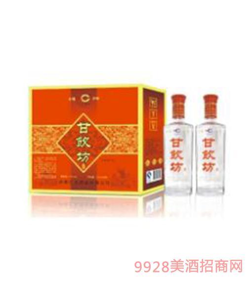 甘饮坊-经典双支礼盒装酒45度500ml