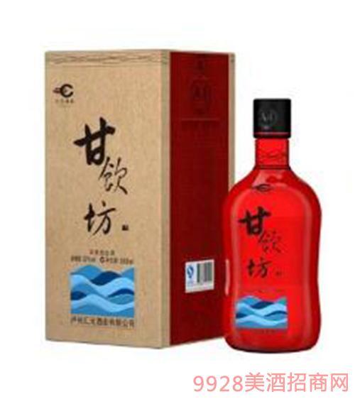 甘饮坊A4单支礼盒装酒