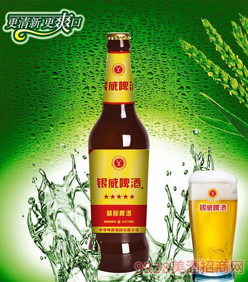 银威精酿啤酒棕瓶10°P500ml 1*12瓶/箱