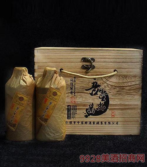 吾壶尚酱酒木箱53度500ml