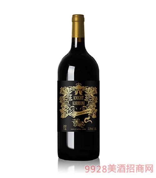 智利�T士卡曼尼赤霞珠干�t葡萄酒