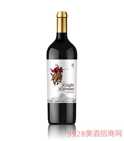 智利�T士卡曼尼梅洛干�t葡萄酒