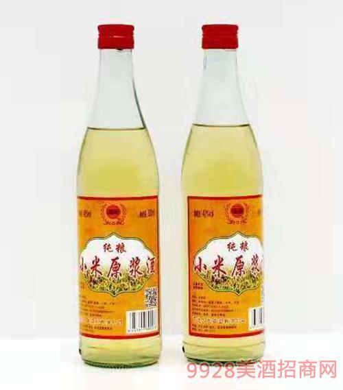 纯粮小米原浆酒42度500ml