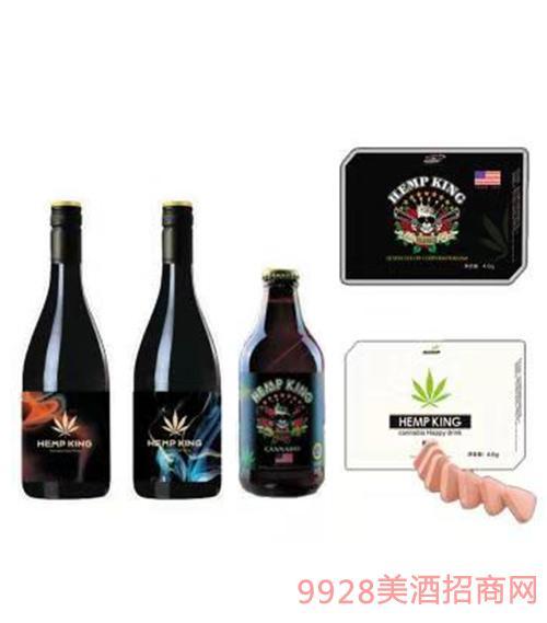 汉麻王欢乐酒小瓶