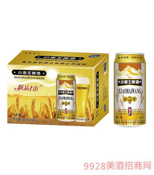 蓝零小麦王啤酒十度