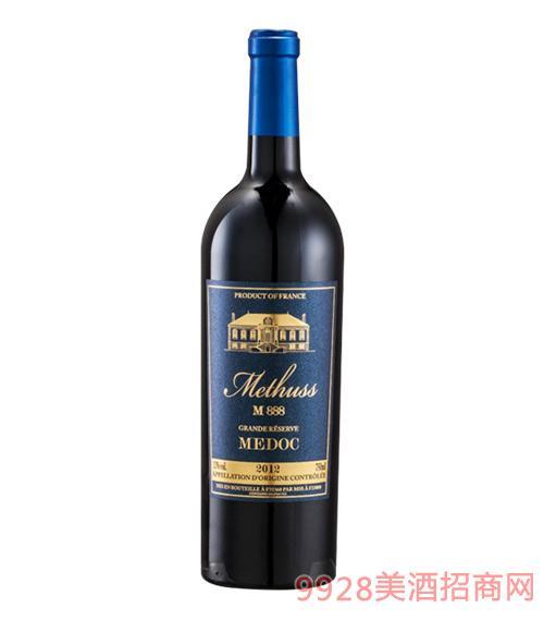 Methuss密特斯M888特级珍藏干红葡萄酒