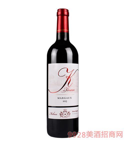 麒麟密特斯限量版干红葡萄酒