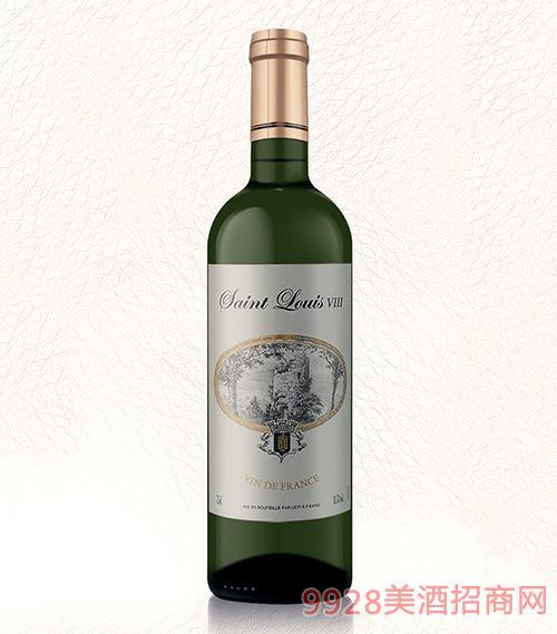 法国圣路易8干白葡萄酒
