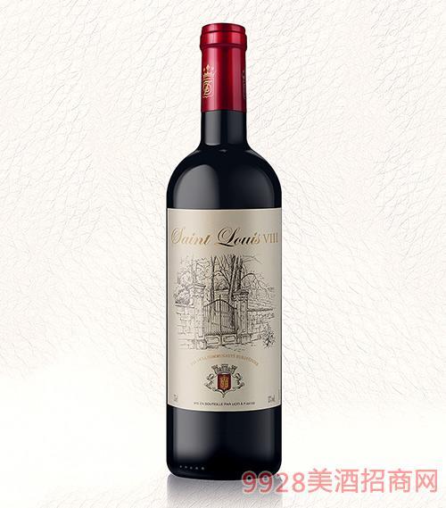 法国圣路易8干红葡萄酒