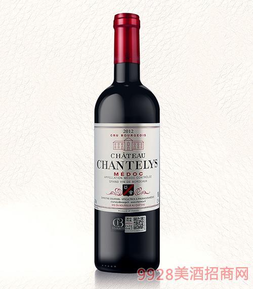 法国香特丽干红葡萄酒