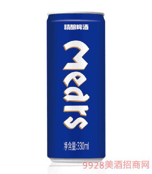 麦迪尔精酿啤酒(蓝)330ml