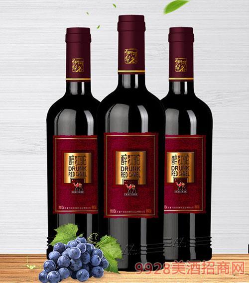 醉红驼红魔鬼干红葡萄酒