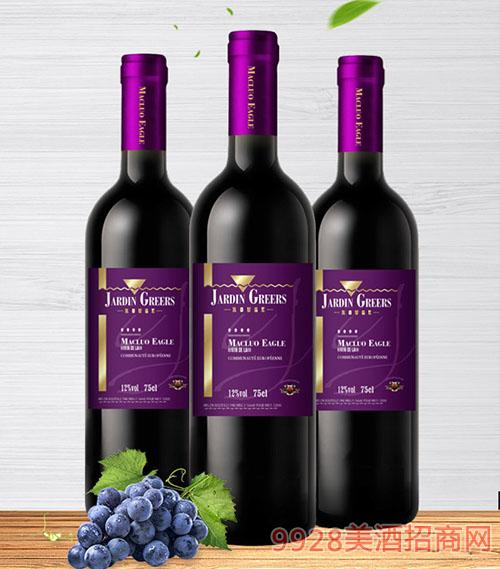格尔斯田园干红葡萄酒