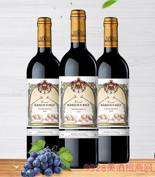 康拉德干红葡萄酒