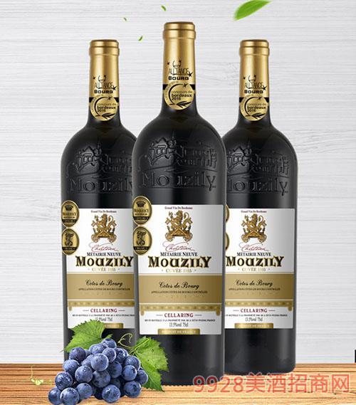 穆泽窖藏干红葡萄酒
