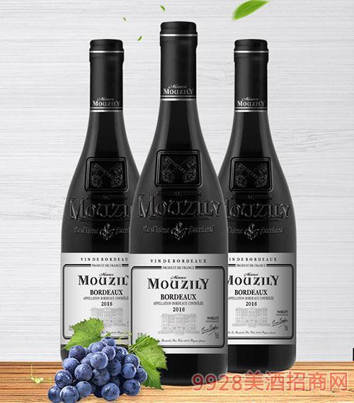 穆泽酒庄贵族干红葡萄酒