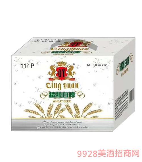 精酿白啤酒11度500mlx12