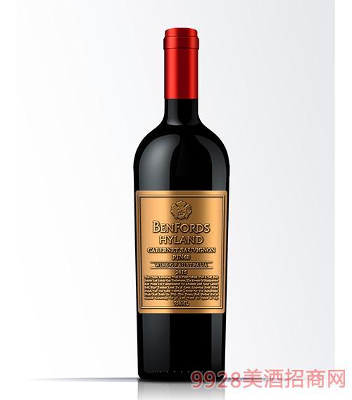 奔富海兰酒庄PIN68葡萄酒14度750ml