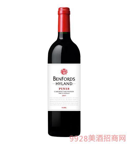 奔富海兰酒庄PIN18葡萄酒13度750ml
