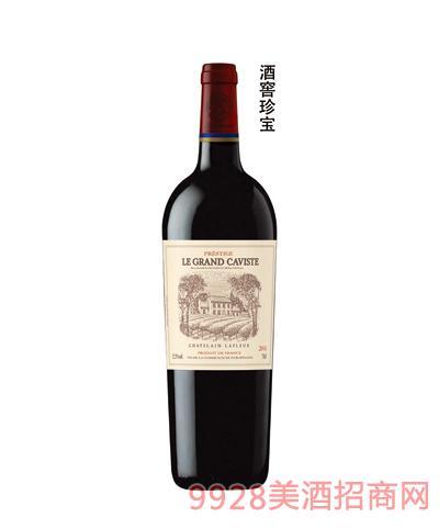 拉斐酒窖珍宝干红葡萄酒13.5度750ml