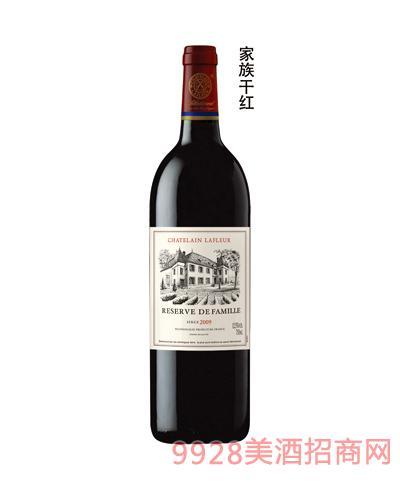拉斐家族干红葡萄酒12.5度750ml