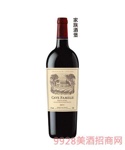 拉斐家族酒堡干红葡萄酒13.5度750ml